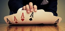 Holding all the aces